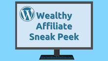 Wealthy Affiliate Sneak Peek