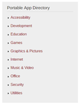 Portable Apps Directory
