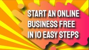 Start an Online Business Free