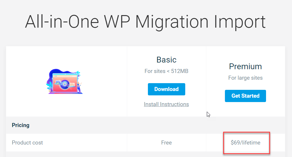 All In One WP Migration Extensions