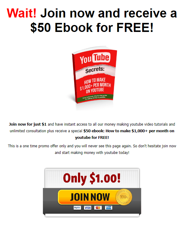 YouTube Secrets eBook