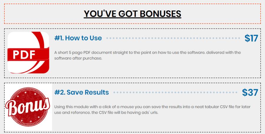 Craigslist Postman Bonuses