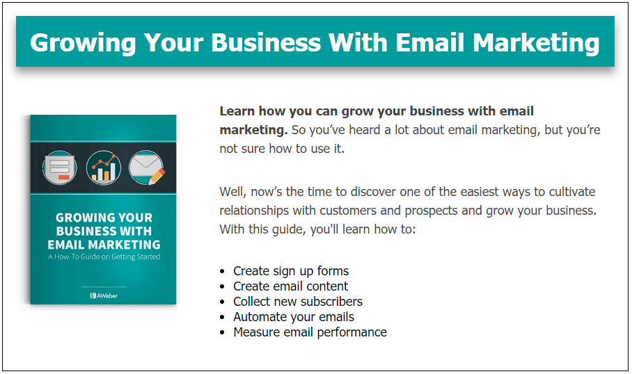 Bonus Growing Your Business With Email Marketing