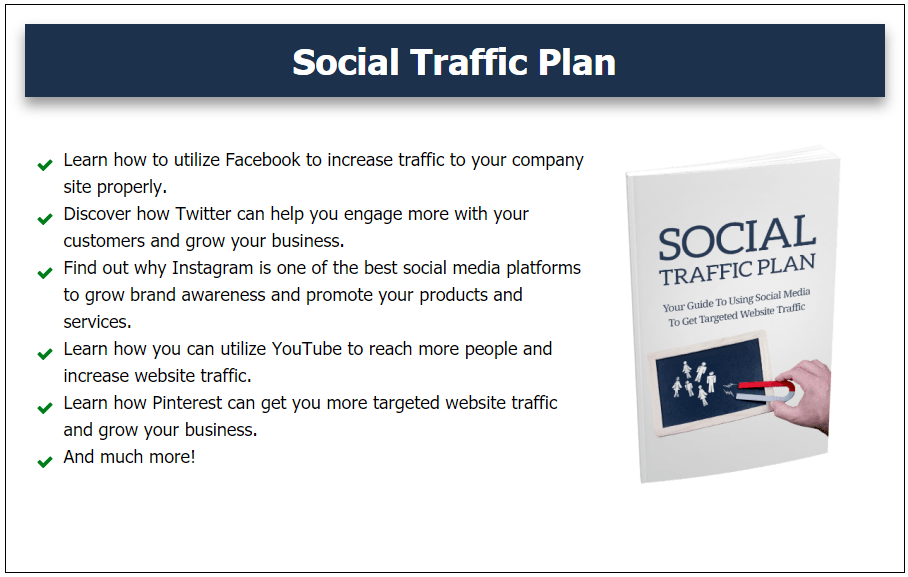 Social Traffic Plan Bonus