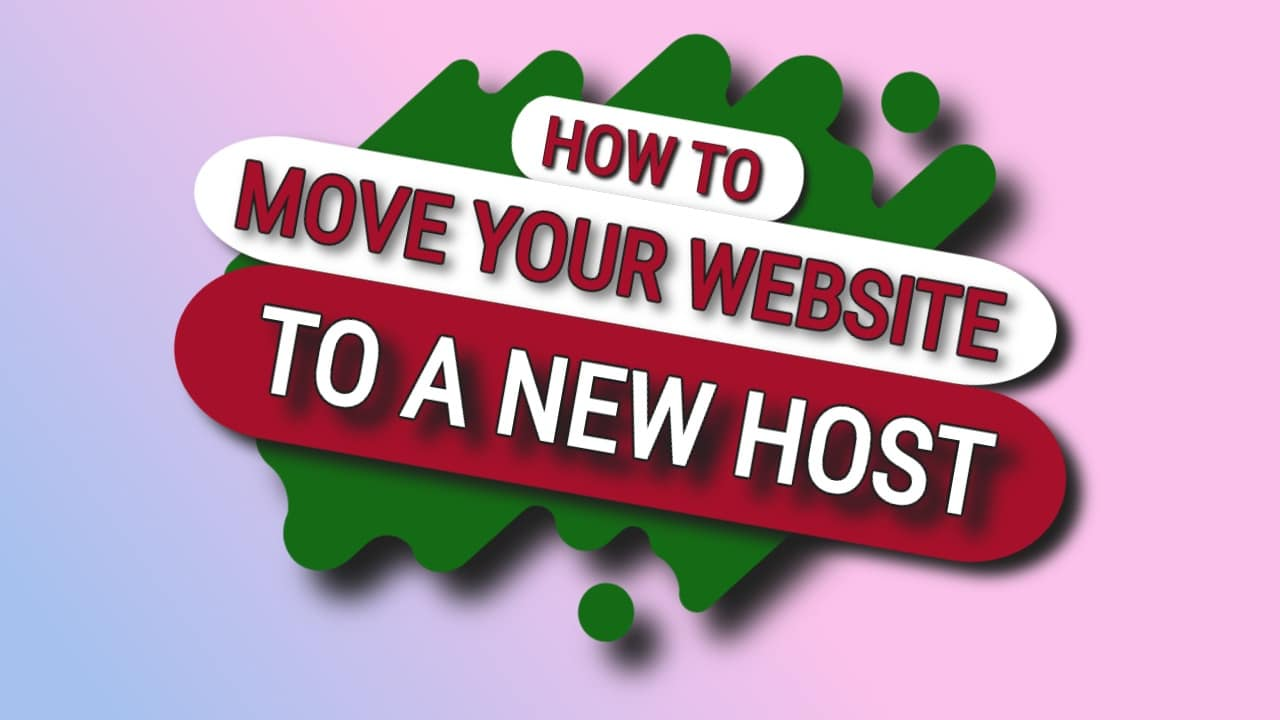 Move Your Website